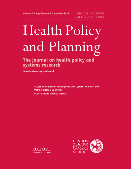 'Access to Medicines through Health Systems in Low- and Middle-Income Countries'