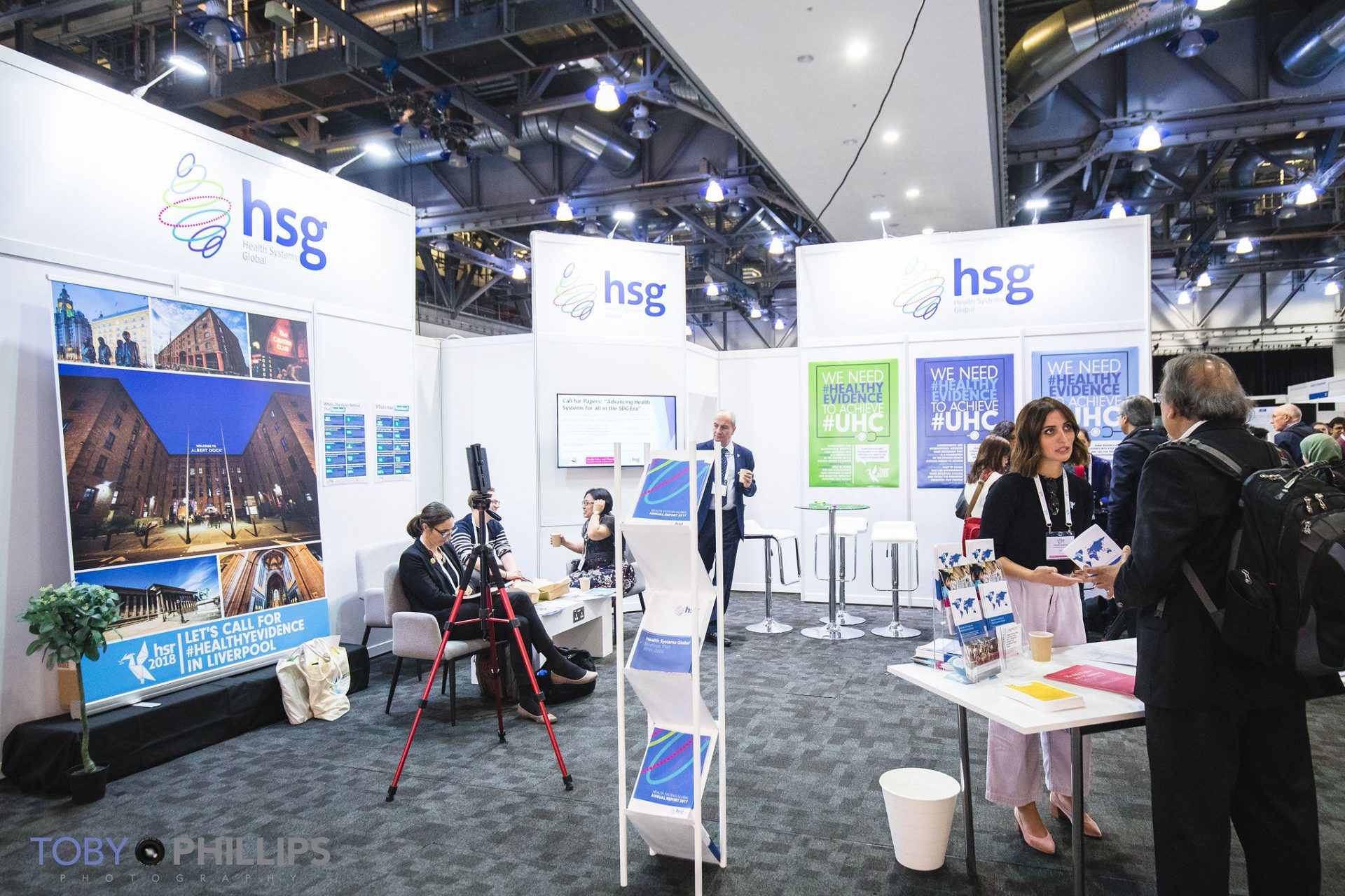 HSG booth at HSR2018