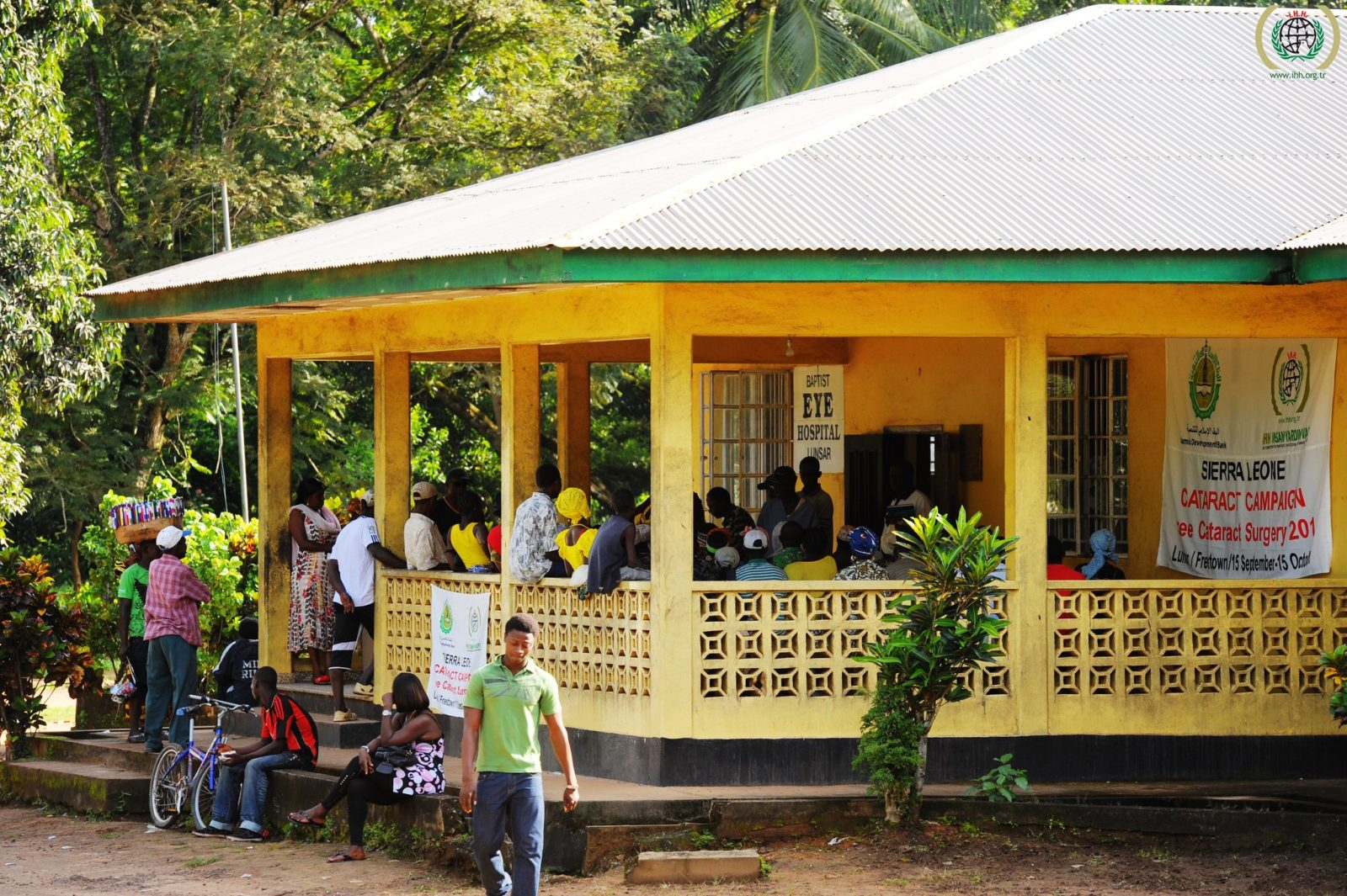 Eye hospital in Lunsar, Sierra Leone