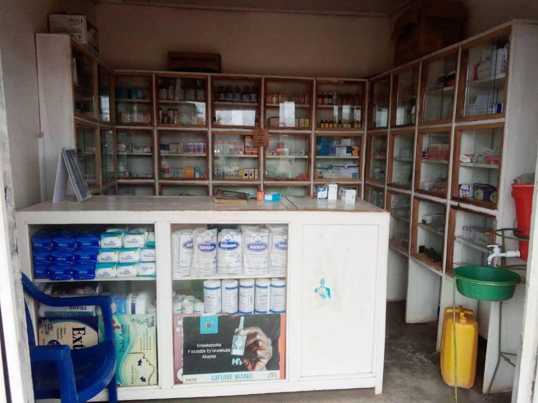 Drug shop in Uganda